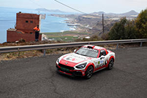 Hintergrundbilder Abarth Tuning Rallye 2016-17 124 rally