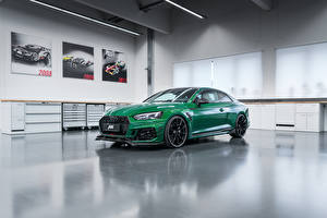 Hintergrundbilder Audi Coupe Grün 2018 ABT RS 5-R