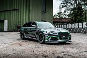 Images Audi Tuning 2018 ABT RS 6-E Avant Concept