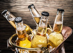Image Beer Bottle Drops Food