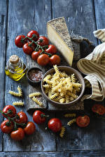 Picture Cheese Tomatoes Boards Pasta Food