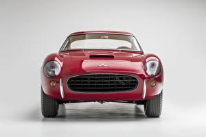 Wallpapers Chevrolet Front Red Metallic Corvette 1960 Corvette Scaglietti automobile