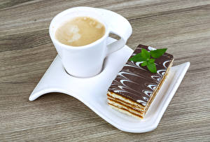 Wallpapers Coffee Cappuccino Cake Cup