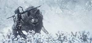 Hintergrundbilder Dark Souls 3 Wolf Ritter Rüstung Spiele