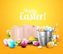 Hintergrundbilder Ostern Gänseblümchen Tulpen Eier Vorlage Grußkarte Englische Eimer