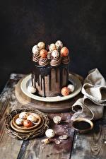 Fonds d'écran Pâques Confiseries Gâteau Chocolat Œuf