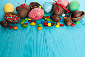 Wallpaper Easter Confectionery Chocolate Candy Eggs Food