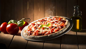 Pictures Fast food Pizza Tomatoes Boards