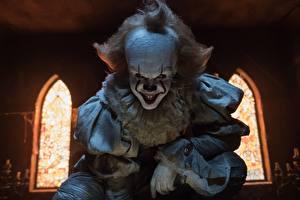 Bilder Schreckliche Hässlich Clown Lächeln