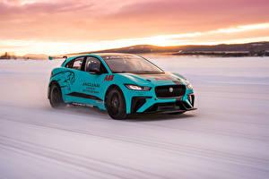 Fotos Jaguar Tuning Bewegung 2019 I-Pace eTrophy Prototype Autos