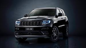Pictures Jeep Black Metallic Grand Cherokee Limited 2019 Grand Cherokee S auto