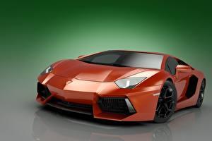 Hintergrundbilder Lamborghini Rot Aventador LP700 V12 Autos