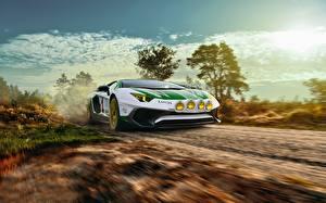 Fondos de Pantalla Lamborghini Movimiento LP750-4 SV Alitalia Tribute THOMAS VAN ROOIJ