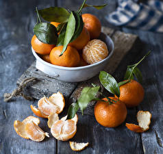 Image Mandarine Leaf Food