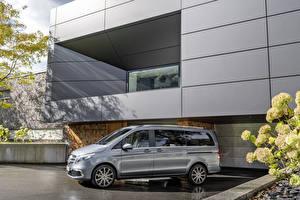 Fotos Mercedes-Benz Grau 2019 V-Klasse Exclusive Line Worldwide Autos
