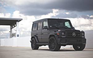 Fotos Mercedes-Benz G-Modell Schwarz G63