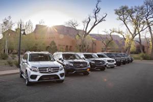 Bakgrundsbilder på skrivbordet Mercedes-Benz Många 2016 TopCar GLE-Klasse Coupe Inferno Bilar