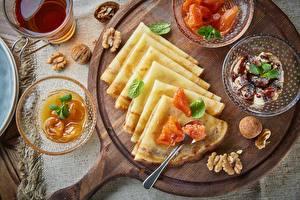 Image Hotcake Fruit preserves Nuts