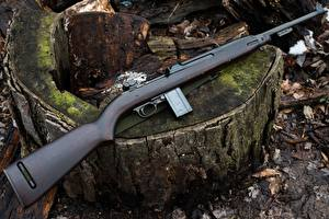 Images Rifles Closeup 1943 M1 Carbine Inland Army