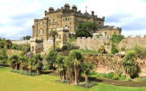 Tapety na pulpit Szkocja Zamek Zagroda Palmy Culzean castle Miasta