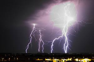 Hintergrundbilder Himmel Blitze Natur