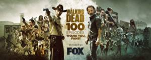 Image The Walking Dead TV Man Andrew Lincoln 100 episodes Movies