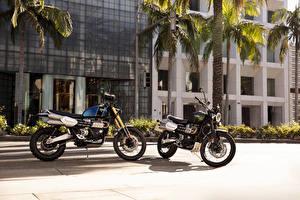 Photo 2 Two Scrambler 1200 XC, Scrambler 1200 XE Motorcycles