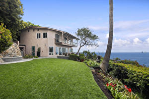 Image USA Building Mansion Design Lawn Laguna Beach Cities
