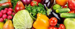 Hintergrundbilder Gemüse Paprika Kohl Radieschen Gurke Aubergine Birnen Tomate