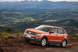 Bilder Volkswagen Orange Metallisch 2019 T-Cross 250 TSI Highline Latam