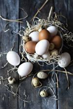 Photo Boards Straw Eggs Food