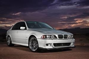 Bilder BMW Silber Farbe E39 530i