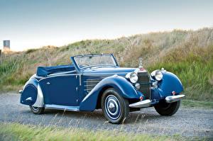 Fotos BUGATTI Antik Hellblau Cabrio 1937 Type 57 Stelvio Cabriolet by Gangloff automobil