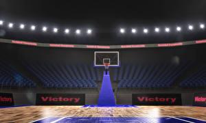 Fonds d'écran Basket-ball arena Sport