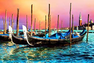 Hintergrundbilder Boot Italien Venedig Städte