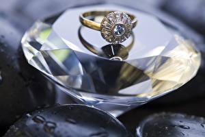 Bilder Brillant Nahaufnahme Ring
