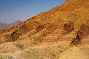 Wallpaper China Parks Hill Zhangye National Geopark Nature