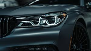 Images Closeup BMW Headlights 2018 7-Series Bi-Turbo Exclusive Edition Alpina B7 auto