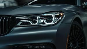 Images Closeup BMW Headlights 2018 7-Series Bi-Turbo Exclusive Edition Alpina B7 auto
