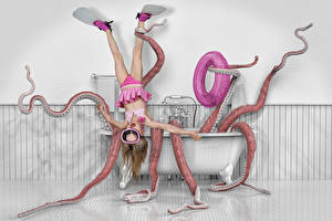 Pictures Creative Little girls Bathroom funny Children
