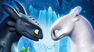Hintergrundbilder Drachen Drachenzähmen leicht gemacht Kopf 2 3 Zeichentrickfilm