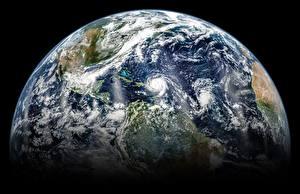 Papel de Parede Desktop Terra Espaço