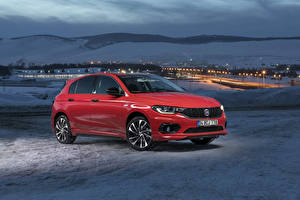 Pictures Fiat Red Metallic 2019 Egea Sport auto