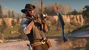 Picture Fishing Fish Red Dead Redemption Hat 2 Games 3D_Graphics