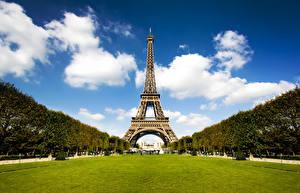Fotos Frankreich Park Eiffelturm Paris