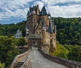 Fotos Deutschland Burg Wälder Wege Eltz Castle Städte