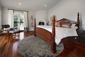 壁纸,,室內,设计,床,安乐椅,