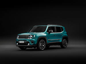 Pictures Jeep Gray background 2018-19 Renegade Limited Worldwide automobile