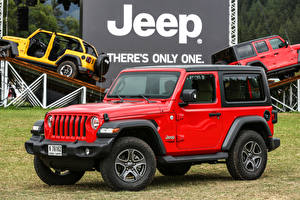 Fotos Jeep Sport Utility Vehicle Rot 2018-19 Wrangler Sport