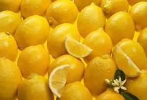 Hintergrundbilder Zitrone Textur Viel Gelb Lebensmittel